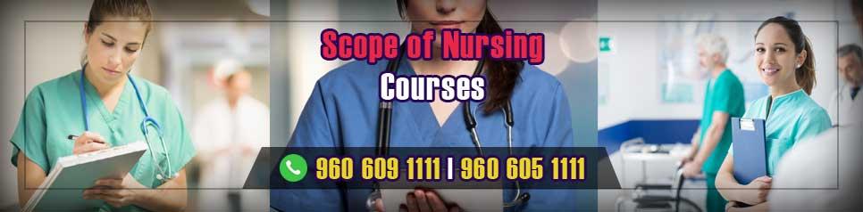 Scope of Nursing Courses