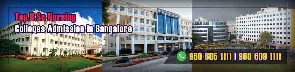 BSc Nursing Admission in Bangalore