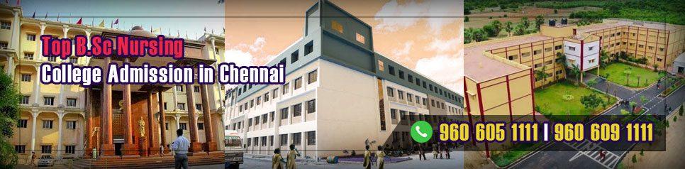 BSc Nursing Admission in Chennai, Tamil Nadu