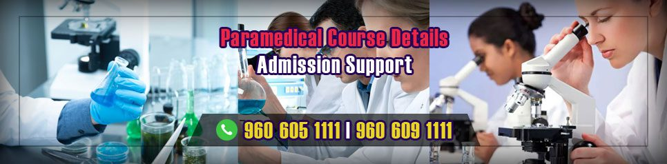 Paramedical Course Details in India