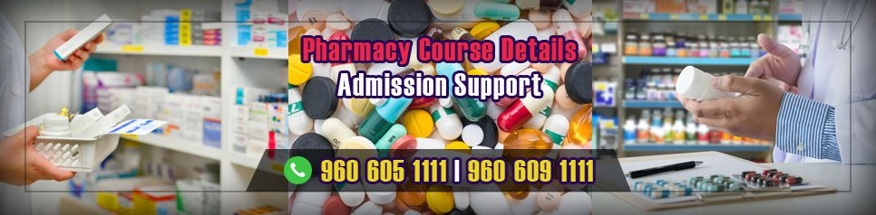 Pharmacy Course Details in India