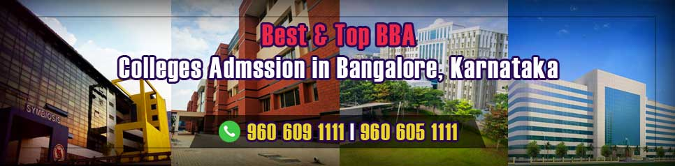 Best Top BBA Colleges Admission in Bangalore karnataka