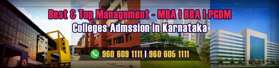 Best Top Management MBA BBA PGDM Colleges Admission in Karnataka