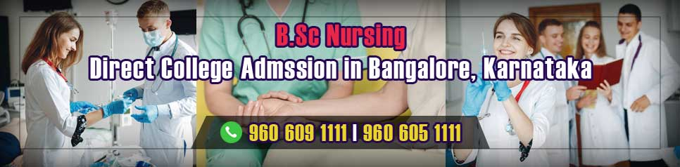 Direct Admission BSc Nursing in Bangalore