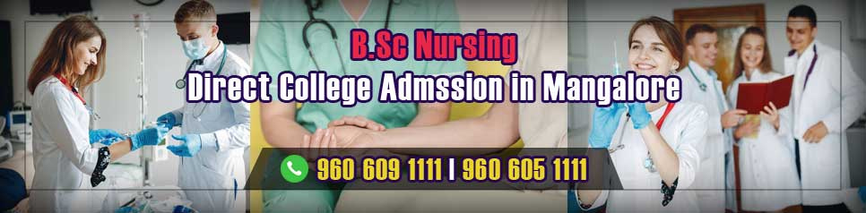 Direct Admission BSc Nursing in Mangalore