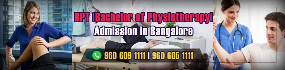 BPT (Bachelor of Physiotherapy) Admission in Bangalore
