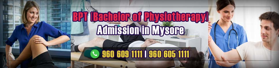 BPT (Bachelor of Physiotherapy) Admission in Mysore