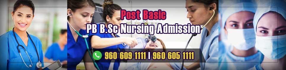 Post Basic (PB) B.Sc Nursing Admission in India