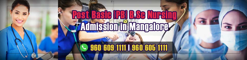 Post Basic - PB BSc Nursing Admission in Mangalore